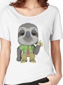 sloth zootopia Women's Relaxed Fit T-Shirt