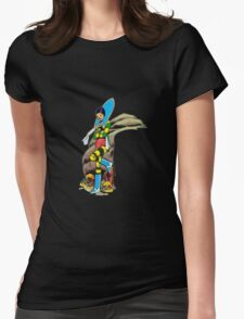 Musky Womens Fitted T-Shirt