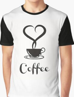 I  love Coffee Graphic T-Shirt