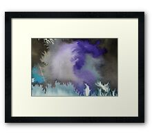 Storm (Abstract Ink) 2 Framed Print
