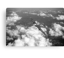 Hawker Hurricane IIB of 174 Squadron B&W version Canvas Print