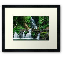 Elabana Falls Framed Print
