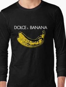Dolce & Banana - Bananas Lovers Fruitarians Vegan Fashion  Tee / Sticker Long Sleeve T-Shirt