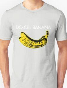 Dolce & Banana - Bananas Lovers Fruitarians Vegan Fashion  Tee / Sticker Unisex T-Shirt