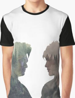 Malec - Shadowhunters - Face to face Graphic T-Shirt