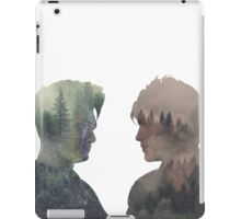 Malec - Shadowhunters - Face to face iPad Case/Skin