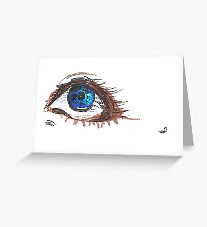 The Eye of Desire  Greeting Card