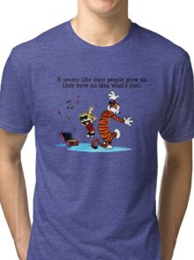 Calvin And Hobbes Dance Tri-blend T-Shirt