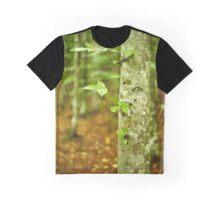 Hornbeam forest on summer Graphic T-Shirt