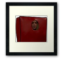 Eric's Couch Disguise Framed Print