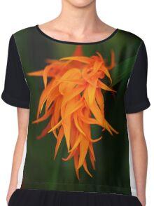 Orchid Flames Women's Chiffon Top