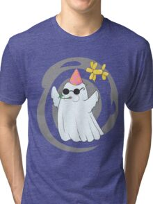 Party Ghost Tri-blend T-Shirt