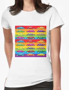 Wall paper Womens Fitted T-Shirt