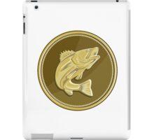 Barramundi Gold Coin Retro iPad Case/Skin