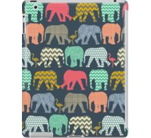 baby elephants and flamingos iPad Case/Skin