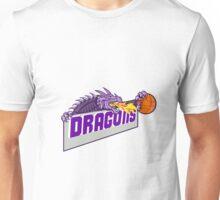 Dragon Head Fire Clutching Basketball Retro Unisex T-Shirt