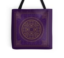 Indigo Home Medallion  Tote Bag