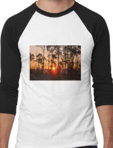 Sunset in Woorabinda Men's Baseball ¾ T-Shirt