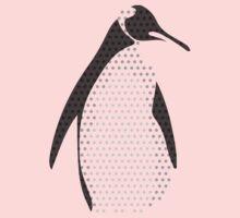 Pop Art Penguin One Piece - Short Sleeve