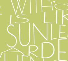 Wilde - Keep Love - Typography Sticker