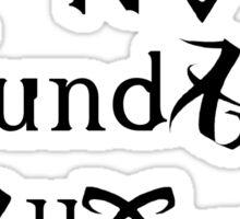 No Mundanes Allowed Sticker
