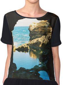 The Grotto - Great Ocean Road Women's Chiffon Top