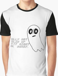 Undertale: Really not feeling up to it. Graphic T-Shirt