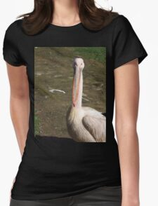 Looking down my beak at you! Womens Fitted T-Shirt