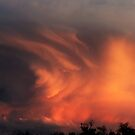 Fire clouds by Teacup