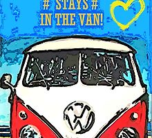 What happens in the van.... by Sharon Poulton