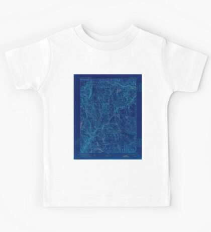 USGS TOPO Map Connecticut CT Gilead 331028 1892 62500 Inverted Kids Tee