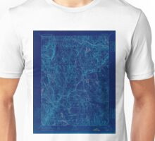 USGS TOPO Map Connecticut CT Gilead 331028 1892 62500 Inverted Unisex T-Shirt