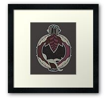 NEW BORN MOTHER SPACE Framed Print