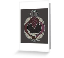 NEW BORN MOTHER SPACE Greeting Card