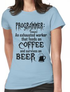 Programmer Womens Fitted T-Shirt