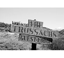The Trossachs Guest Lodge VII - McGregor, South Africa Photographic Print
