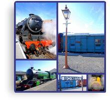 Bo'Ness Steam Railway  Canvas Print