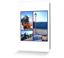 Bo'Ness Steam Railway  Greeting Card