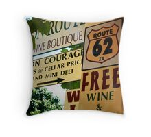 Signs - Western Cape Province, South Africa Throw Pillow