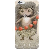 Animal Hedgehog Strawberry iPhone Case/Skin