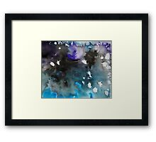 Storm (Abstract Ink) 5 Framed Print