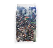 Over Sydney Duvet Cover