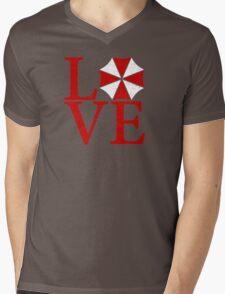 Umbrella Love Mens V-Neck T-Shirt