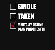 Mentally Dating Dean Whincester Womens Fitted T-Shirt