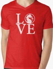 Mortal Love Mens V-Neck T-Shirt