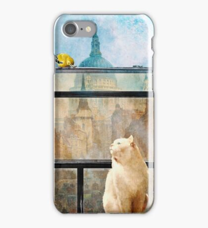 The Bird and the Cat iPhone Case/Skin
