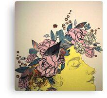 Flora and her Kartinkamqass Canvas Print