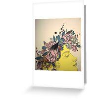 Flora and her Kartinkamqass Greeting Card