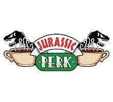 Jurassic Park x Central Perk - Jurassic World/FRIENDS parody Photographic Print