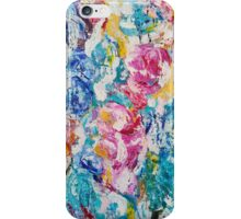 Abstract floral painting iPhone Case/Skin